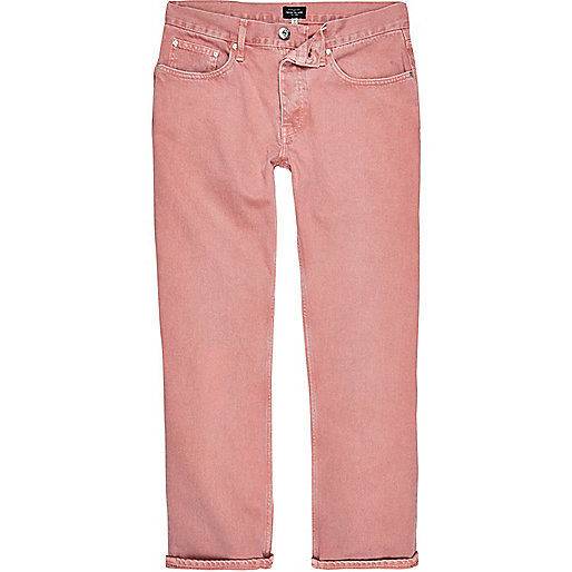 Pink wash Cody loose fit jeans
