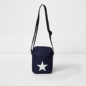 Sac bandoulière Mi-Pac imprimé étoile bleu marine
