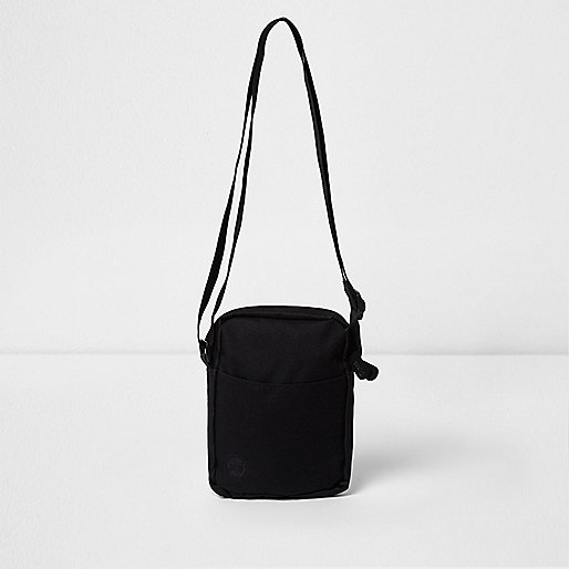 Black Mi-Pac cross body flight bag