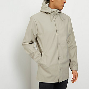 River Island Distressed Overcoat