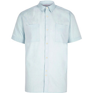 Light blue Bellfield short sleeve shirt