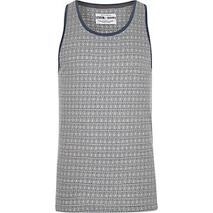Light blue Bellfield mandala print tank
