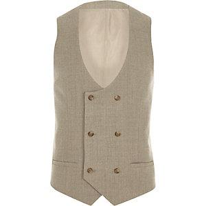 Stone suit waistcoat