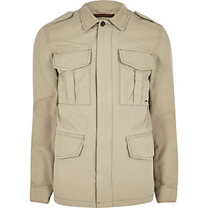 Grey Jack & Jones Vintage field jacket