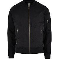 Navy Jack & Jones Premium bomber jacket
