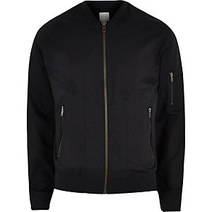 Navy Jack & Jones Premium bomber jacket
