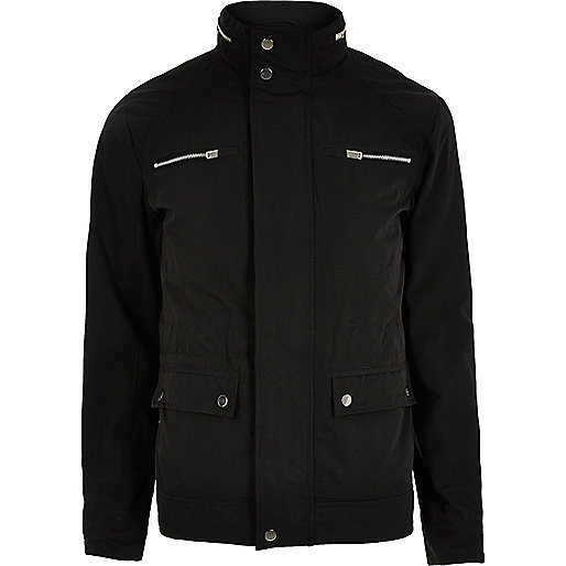 Black Jack & Jones Premium zip pocket jacket