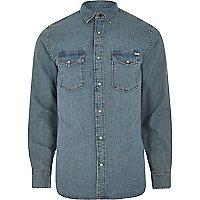 Blue Jack & Jones Vintage denim shirt