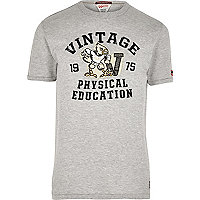 Light grey marl Jack & Jones Vintage T-shirt