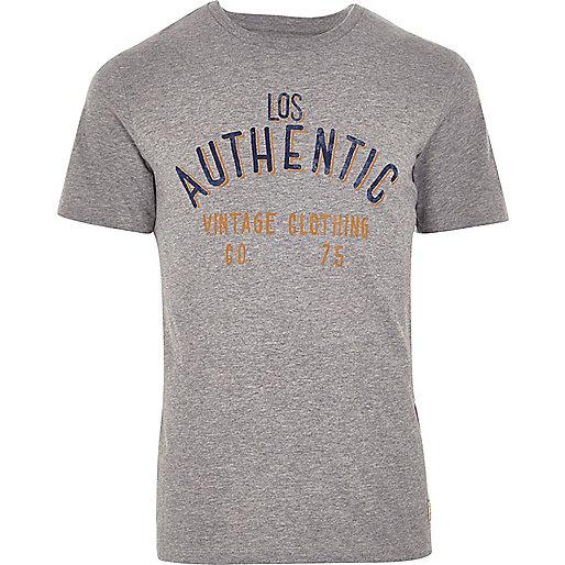 Light grey Jack & Jones Vintage T-shirt