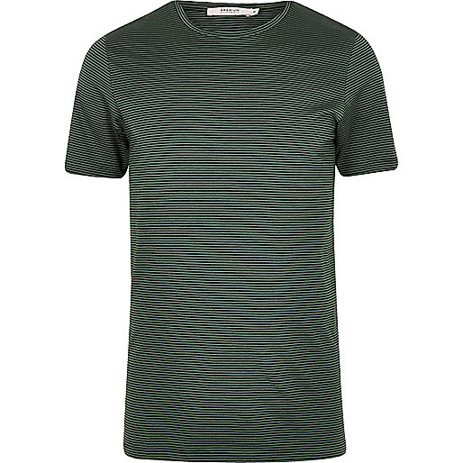 Green stripe Jack & Jones Premium T-shirt