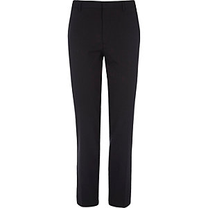Big and Tall navy skinny fit suit trousers