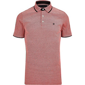 Red Jack & Jones Premium polo shirt
