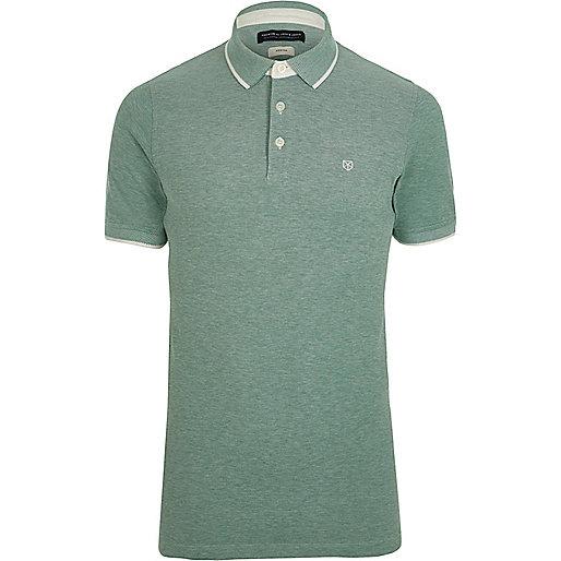 Green Jack & Jones Premium polo shirt