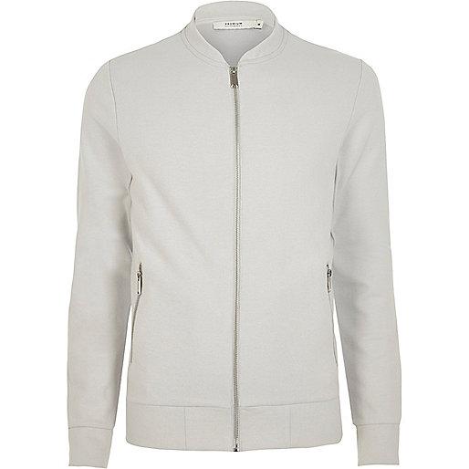 White Jack & Jones Premium bomber jacket