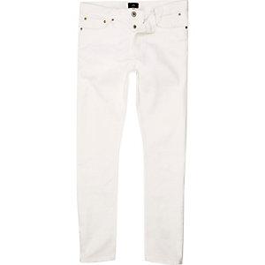 Sid – Weiße Skinny-Jeans
