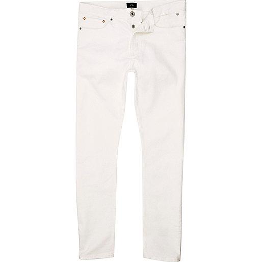 sid wei e skinny jeans jeans sale herren. Black Bedroom Furniture Sets. Home Design Ideas