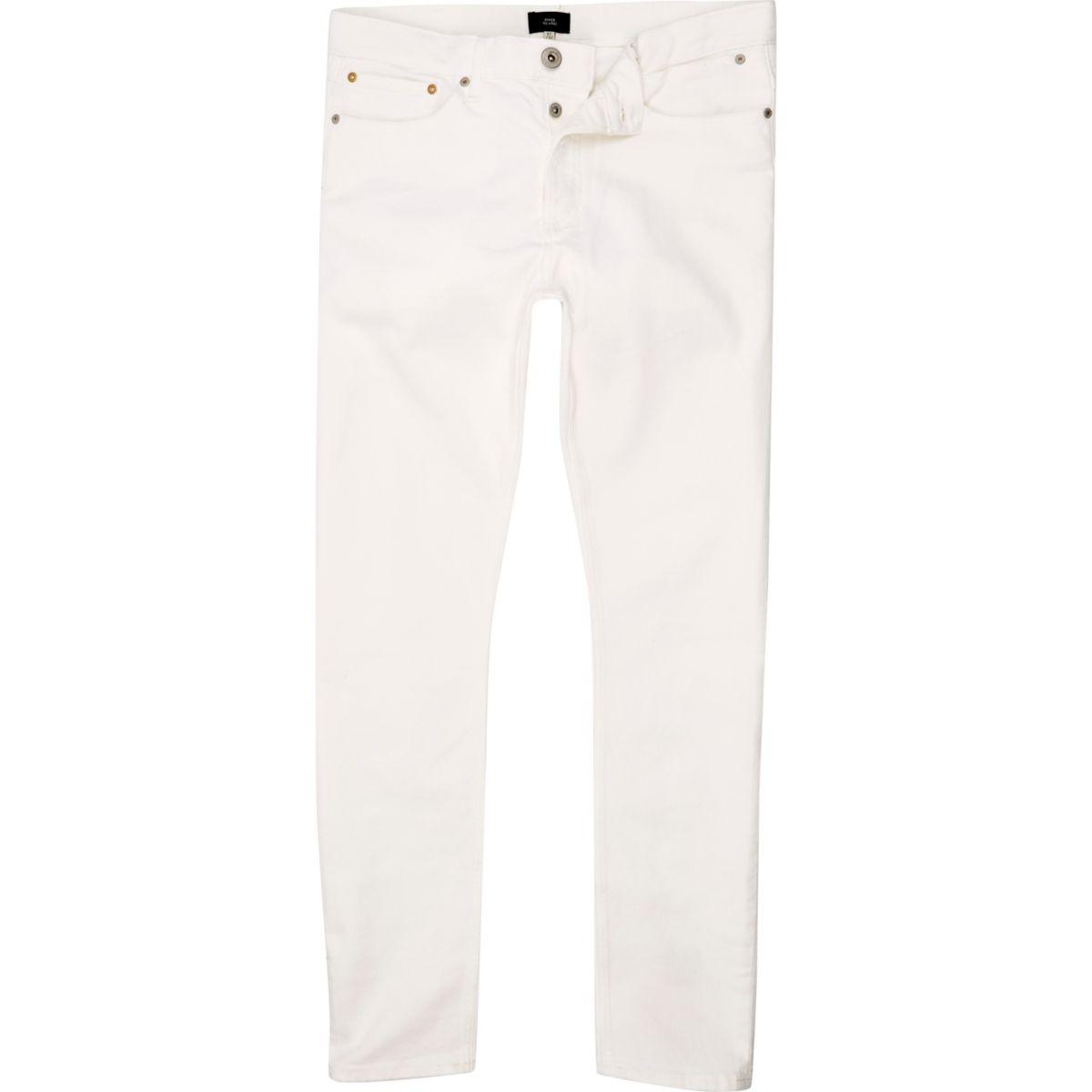 White skinny Sid jeans