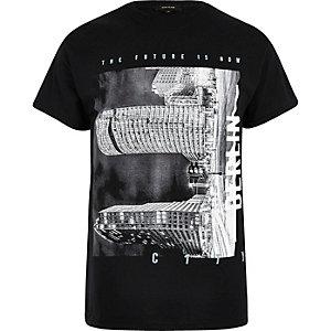 T-shirt Berlin Future noir