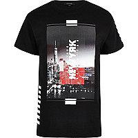 "Schwarzes T-Shirt ""New York"""