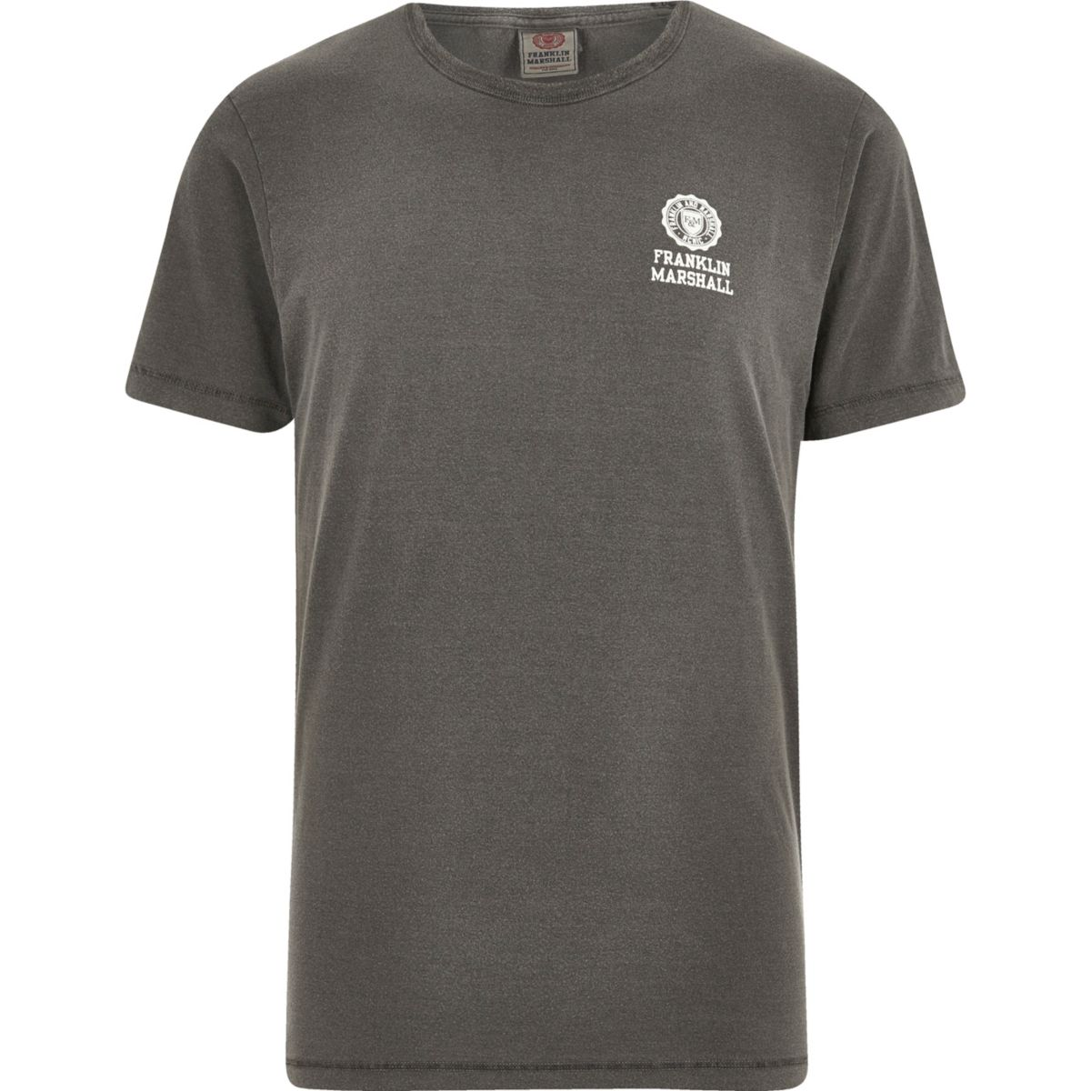 T-shirt imprimé Franklin & Marshall noir