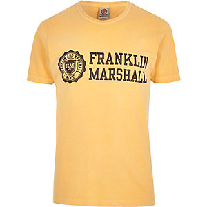 Franklin & Marshall – Bedrucktes T-Shirt
