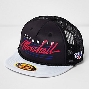 Black Franklin & Marshall trucker cap