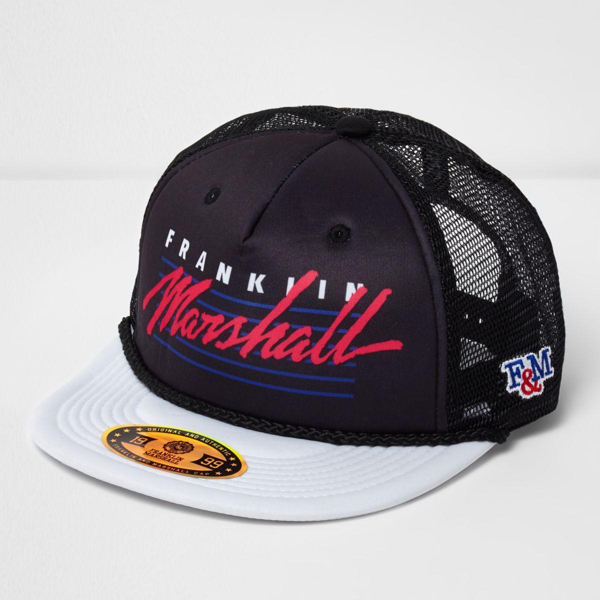 Black Franklin & Marshall trucker cap