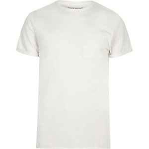 Slim Fit T-Shirt mit Rundhalsausschnitt