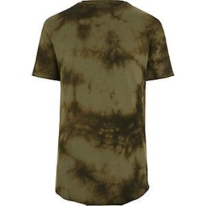 Kakigroen tie-dye slim-fit T-shirt