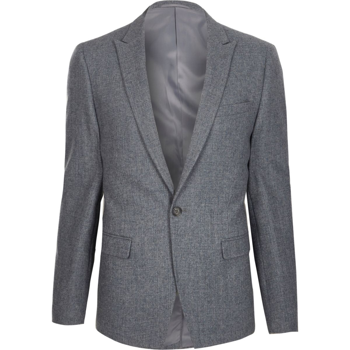 Light blue skinny fit blazer
