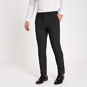 Grey skinny fit smart pants