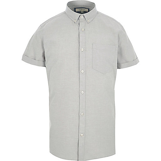 Light camel short sleeve shirt