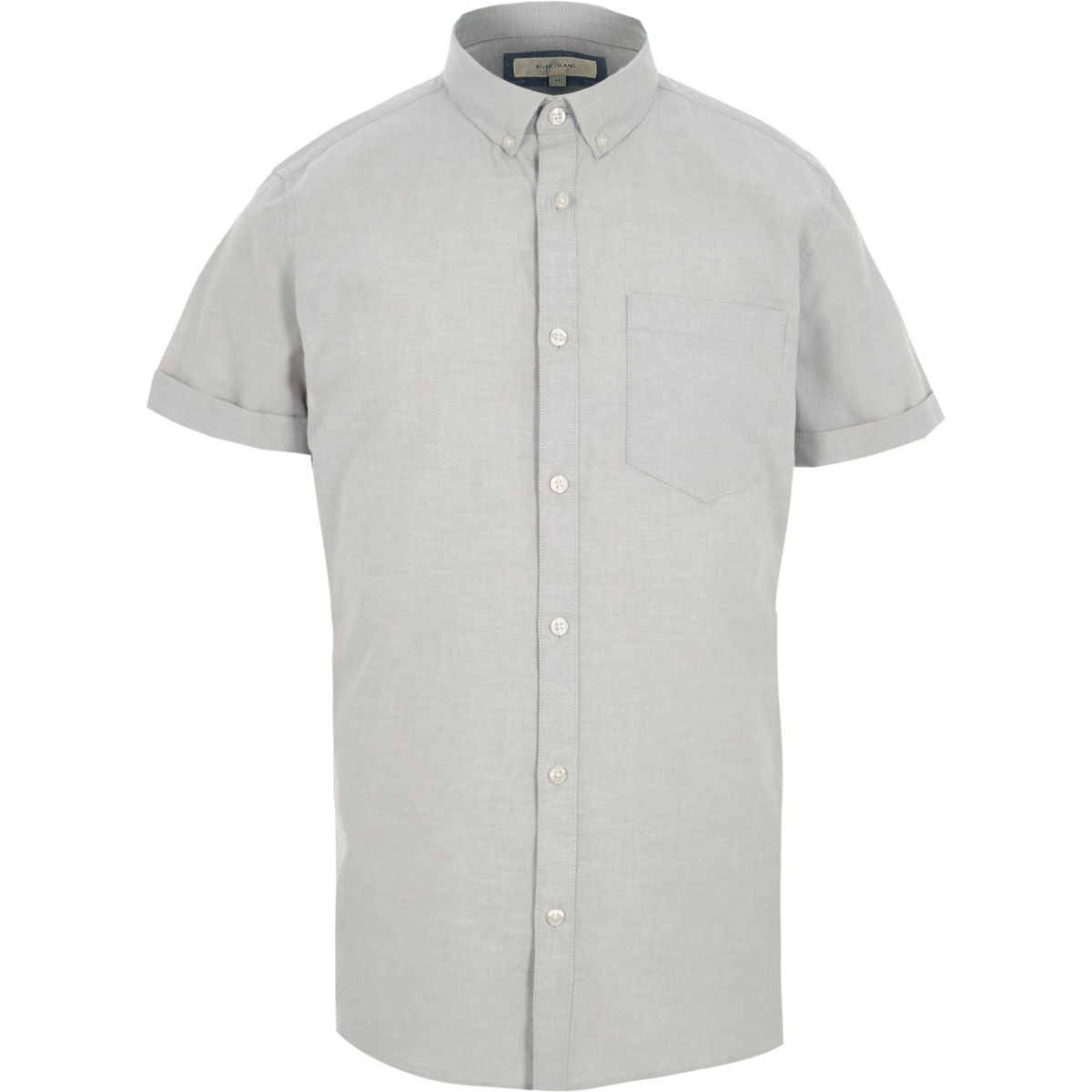 Light camel short sleeve shirt