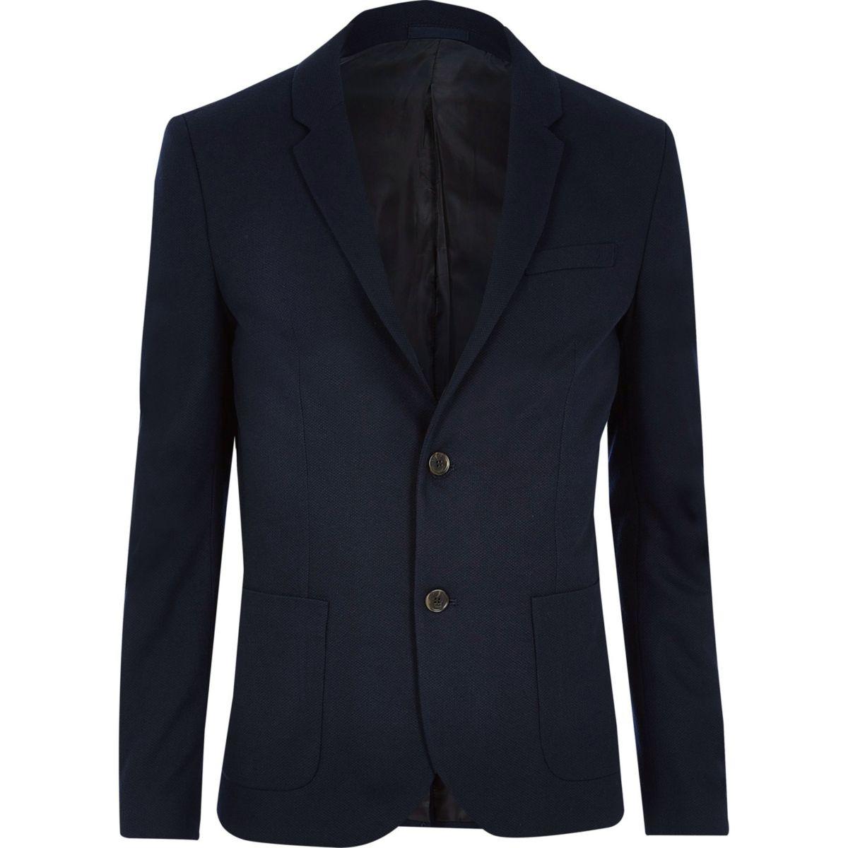 Big and Tall navy blazer