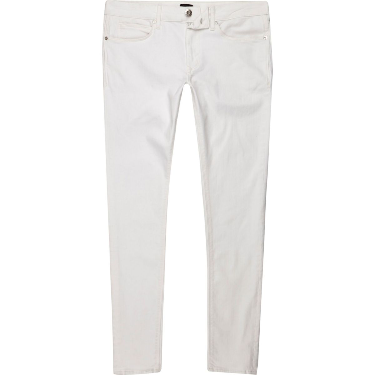 White Ollie super skinny spray on jeans