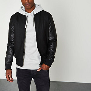 Black Only & Sons bomber jacket