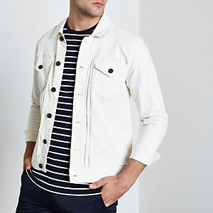 Only & Sons - Wit denim jack