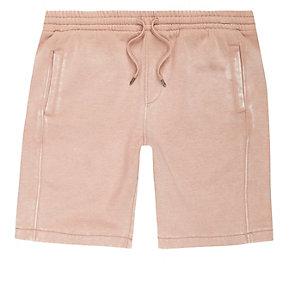 Pinke Jersey-Shorts