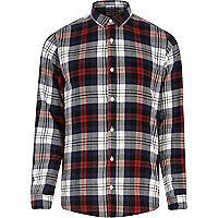 Orange Only & Sons check shirt