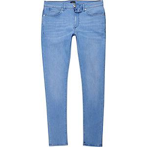 Ollie - Blauwe superskinny spray-on jeans