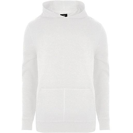 White long sleeve hoodie