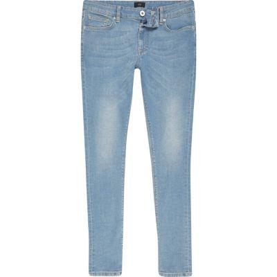 Danny Lichtblauwe superskinny jeans