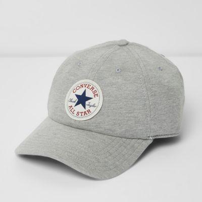 Converse Grijze jersey baseballpet