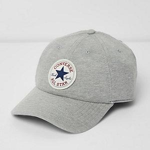 Grey Converse jersey baseball cap