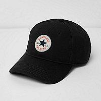 Converse – Casquette de baseball en jersey noire