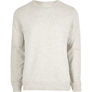 Cream marl sweatshirt
