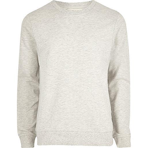 Cream marl sweatshirt