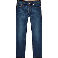 Dark blue wash Dylan slim fit jeans