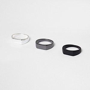 Multipack zwarte ringen